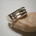 Atlantiszi gyűrű ezüstből, Ékszer, óra, Férfiaknak, Gyűrű, Ékszerkészítés, Ötvös, 60-es méretű a gyűrű.Fényes polírozott felületű,antikolva is kérhető.Ezüstből készült fémjelzett ék..., Meska