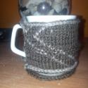 Kötött bögre pulcsi / Mug cozy, Dekoráció, Otthon, lakberendezés, Dísz, , Meska