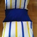 Gyermek ülőke avagy  pihenőágy., Baba-mama-gyerek, Gyerekszoba, Gyerekbútor, Varrás, Négy párna való bele amit hajtogatva fotelnak lehet használni.Méretei egy résznek 45/ 65 cm . A tel..., Meska