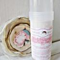 Rózsa-vanilia illatú alumíniummentes kézműves dezodor. - 60 ml - betétdijjas termék, Szépségápolás, Egészségmegőrzés, Szappan, tisztálkodószer, Kozmetikum, Ez a rózsa-vanilia illatú dezodor a bolti stiftes dezodorokhoz hasonló kivitelben gyárott 100%os ter..., Meska