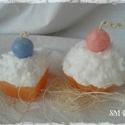 Édes álom süti gyertya (2 db), Dekoráció, Otthon, lakberendezés, Dísz, Gyertya, mécses, gyertyatartó, Gyertya-, mécseskészítés, Különböző alapú sütemény gyertyák. Nem csak édesszájúaknak. :)  Rendelhetőek különböző színben is e..., Meska