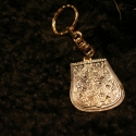 Fém kulcstartó 1, Férfiaknak, Mindenmás, Kulcstartó, Galvano plasztikával készített fém kulcstartó,hátsó oldalon a mintát kísérő szöveggel. mérete:4,5cm..., Meska