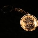 Fém kulcstartó 3, Férfiaknak, Mindenmás, Kulcstartó, Galvano plasztikával készített fém kulcstartó,hátsó oldalon a mintát kísérő szöveggel. mérete:4,5cm..., Meska