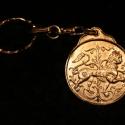 Fém kulcstartó 7, Férfiaknak, Mindenmás, Kulcstartó, Galvano plasztikával készített fém kulcstartó,hátsó oldalon a mintát kísérő szöveggel. mérete:4,5cm..., Meska