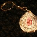 Fém kulcstartó 8, Férfiaknak, Mindenmás, Kulcstartó, Galvano plasztikával készített fém kulcstartó,hátsó oldalon a mintát kísérő szöveggel. mérete:4,5cm..., Meska