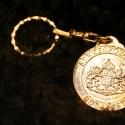 Fém kulcstartó 9, Férfiaknak, Mindenmás, Kulcstartó, Galvano plasztikával készített fém kulcstartó,hátsó oldalon a mintát kísérő szöveggel. mérete:4,5cm..., Meska