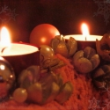 Kötött adventi koszorú, Karácsonyi, adventi apróságok, Karácsonyi dekoráció, Virágkötés, Kötés, RENDELHETŐ!!! Már van gazdája, de szívesen elkészítem ismét, vagy más színösszeállításban a Te ízlé..., Meska