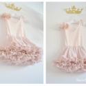 Princess Skirt, Baba-mama-gyerek, Ruha, divat, cipő, Gyerekruha, Varrás, Különleges, egyedi és habos-babos szoknyácska, s hozzá illő felsőrész és grátiszként, hogy viselője..., Meska