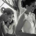 tüllszoknyás esküvői ruha, Ruha, divat, cipő, Esküvői ruha, Női ruha, Estélyi ruha, Varrás, A ruha fűzőből és egy tüllszoknyából áll. A fűző selyemshantung, természetes fehér színű, mellrész ..., Meska
