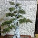 bonsai model, Dekoráció, Képzőművészet , Dísz, Szobor, Fémmegmunkálás, Festészet, modell bonsai általában minden bonsai típust tudok modellezni méretarányosan külön kérésre kép alap..., Meska