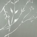 Törtfehér muszlin sál, Ruha, divat, cipő, Kendő, sál, sapka, kesztyű, Kendő, Sál, Varrás, Kellemes tapintású, légiesen könnyű anyag. Fehér, festett virágok teszik még szebbé.  Ez lehet egy ..., Meska