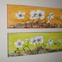 """Orchideák ragyogása- kétféle színben választható-műteremből, Képzőművészet, Otthon, lakberendezés, Festmény, Napi festmény, kép, Festészet, Orchideák ragyogása- kétféle színben választható  FESTMÉNYVILÁG GALÉRIA ÚJDONSÁGA : """" ORCHIDEÁK RAG..., Meska"""