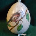 Kerámia tojás, Dekoráció, Húsvéti apróságok, Dísz, Ünnepi dekoráció, Kerámia, Magas hőfokon égetett kerámia tojás,vanília színű mázzal bevonva. Magas ütés-és kopásállóságú.  Dís..., Meska