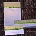 Mintás esküvői szett, Karácsonyi, adventi apróságok, Ajándékkísérő, képeslap, Karácsonyfadísz, Papírművészet, Áldobozos tekercses esküvői szettet készítettem.  - Áldobozos tekercses meghívó:480 Ft/Db - Hozzá t..., Meska