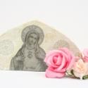Asztali dísz (Rosa), Dekoráció, Képzőművészet , Mindenmás, Otthon, lakberendezés, , Meska