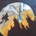Harry Potter- festett felső, Ruha, divat, cipő, Női ruha, Felsőrész, póló, , Meska