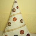 Karácsonyfa párna krém színű, Baba-mama-gyerek, Dekoráció, Otthon, lakberendezés, Lakástextil, , Meska
