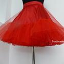 Alsószoknya pörgös szoknyához, Rockabilly stílusú  ruhához), Ruha, divat, cipő, Esküvő, Női ruha, Menyasszonyi ruha, Varrás, Klasszikus Rockabilly stílusú  ruha alá elengedhetetlen a megfelelő alsószoknya. a szoknyát 7 m tül..., Meska