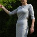 Pamut ruha, Ruha, divat, cipő, Női ruha, Ruha, Varrás,  Különleges háta megoldású pamut ruha, ami 36-38 os méretben készült. Keresztbe pántos háta miatt n..., Meska