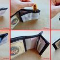 Férfi pénztárca tűzoltó tömlőből bankkártya névjegy irattartó biztonságos pénz tárca hasznos ajándék férjeknek pasiknak (Trashman) - Meska.hu
