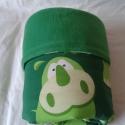 Zöld vízilovas babatakaró, Baba-mama-gyerek, Gyerekszoba, Falvédő, takaró, Baba-mama kellék, Varrás, RENDELHETŐ   Vidám, zöld színű, vízilovas mintázatú babatakaró a csöppségeknek. Ideális lehet babal..., Meska