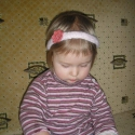 virágos horgolt hajpánt, Ruha, divat, cipő, Hajbavaló, Hajpánt, Horgolás, A képeken látható hajpántot a kislányom méretében készítettem el. Természetesen a megrendelésnek me..., Meska