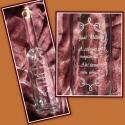 Gravírozott palack , Férfiaknak, Konyhafelszerelés, Kancsó , Üvegművészet, 500 ml-es kézzel gravírozott üveg dugóval.   Megbeszélés után más mintával/ felirattal is kérhető. ..., Meska