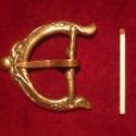 Állatfejet mintázó viking stílusú övcsat, Férfiaknak, Öv, Fémmegmunkálás, Ötvös, Állatfejjel díszített bronzból öntött egyedi övcsat. 35mm-es övszélességhez használható. Kívánság s..., Meska