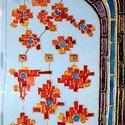 Mesefa, Képzőművészet, Napi festmény, kép, Festészet, 35X70 cm,  síküvegre üvegfestés technikával készült üvegfestmény, Meska