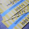 Vadjutka Design Ékszer Ajándékutalvány - 1000 ft, Ékszer, óra, Mindenmás, Ha ajándékozni szeretnél, de nem tudsz választani vagy nem tudod pontosan, hogy mi tetszene az illet..., Meska