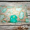 Romantikus pelenkatáska pelenka tartó táska  , Táska, Baba-mama-gyerek, Baba-mama kellék, Varrás, Minőségi pamut anyagból készült praktikus pelenka tartó táska..  Műanyag patenttal záródik (ÖKO-TEX..., Meska