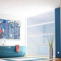 az esőgubancoló - mozaik kép faldekoráció, Dekoráció, Képzőművészet , Otthon, lakberendezés, Falikép, Fotó, grafika, rajz, illusztráció, Mozaik, varnyú - mozaik kép faldekoráció vakalu sorozat - belső terek faldekorációjához készült, facsempe a..., Meska