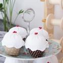 Muffin textilből (nagy), Baba-mama-gyerek, Játék, Dekoráció, Otthon, lakberendezés, Baba-és bábkészítés, Varrás, Közeledik a karácsony, ideje elgondolkodni a lakás feldíszítésén, az ajándékokon!  Ezek a muffinok ..., Meska