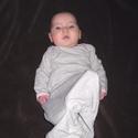 Baba hálóruha, Baba-mama-gyerek, Ruha, divat, cipő, Gyerekruha, Baba (0-1év), Álomruha Azaz a legkisebbek pizsamája.   A csecsemő éjszakai kényelme és a mama életének megkönnyíté..., Meska