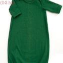 Baba hálóruha zöld, Baba-mama-gyerek, Ruha, divat, cipő, Gyerekruha, Baba (0-1év), Álomruha Azaz a legkisebbek pizsamája.   A csecsemő éjszakai kényelme és a mama életének megkönnyíté..., Meska