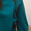Női bringás  dzseki, Ruha, divat, cipő, Női ruha, Kabát, Varrás, Női bringás dzseki softshell anyagból.A háta hosszított,hogy védje a derekat és oldalt is bővíthető..., Meska