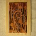 Klimt III. 10 x 17 cm organikus tűzzománc, Képzőművészet, Festmény, Festmény vegyes technika, Tűzzománc, Tűzzománc kép vörösréz lemezen. A tűzzománc mérete; 10 cm x 17 cm. Postázás az aktuális postai díjs..., Meska