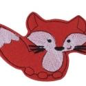 Róka mágneses játék, Baba-mama-gyerek, Játék, Mindenmás, Mindenmás, Varrás, Állat kollekciónk egyik darabja ez piros filcre hímzett RÓKA, melyet rugalmas mágnesre varrtunk rá...., Meska