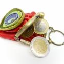poppys-bugyros kulcstartó, Mindenmás, Kulcstartó, Bőrművesség, Mütymürütty, kedves bugyrosított poppys mini pénztárca fityeg ezen a kulcskarikán. kézzelvarrott, h..., Meska