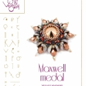 Maxwell medál... minta egyéni felhasználásra, Mindenmás, Csináld magad leírások, Mindenmás, Maxwell medál piggykkel és csiszikkel.   A minta tartalma Részletes lépésről-lépésre képeket és ugy..., Meska