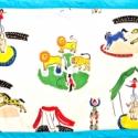 Falvédő, Baba-mama-gyerek, Gyerekszoba, Falvédő, takaró, Varrás, Méret:195x73  Kevert szálas vászonból, vatelinnel bélelve készült. A postaköltség utánvétes csomag ..., Meska