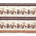 Falvédő, Baba-mama-gyerek, Gyerekszoba, Falvédő, takaró, Varrás, Jó minőségű pamutvászonból, vatelinnel bélelve készítettem a falvédőt. Méret:200X67 cm Hátsó bújtat..., Meska