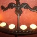 Fali mécses illetve gyertyatartó , Dekoráció, Otthon, lakberendezés, Ünnepi dekoráció, Gyertya, mécses, gyertyatartó, Fémmegmunkálás, Kovácsoltvas, Fali gyertya,illetve mécses tartó.Jól mutat a falon díszként de éjszakai hangulat világításra is al..., Meska