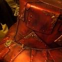 Steampunk stílus (style), Ruha, divat, cipő, Férfiaknak, Steampunk ajándékok, Kendő, sál, sapka, kesztyű, Mindenmás, Festett tárgyak, Egyedi készítésű, rendkívül mutatós. Készülhet natur ill. sok dísszel, kiegészítővel. Az ár egy kal..., Meska