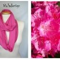 Pink lady - körsál, Ruha, divat, cipő, Női ruha, Varrás, Egy kis színterápia a hidegebb napokra! Kellemes pamutanyagból készült pink színű körsál, ami nemcs..., Meska