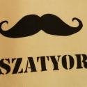 """""""Szatyor"""" textiltáska :), Táska, Szatyor, Varrás, Ezt a táskát a neten népszerű hungaromémekből merítve szitáztam meg.   Gondolkoztam, mi lennek a tá..., Meska"""