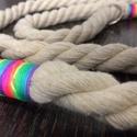 Egyedi Pamut kötél póráz, Állatfelszerelések, Kutyafelszerelés, Varrás, Virágkötés, Extra egyedi 100% pamut kötél pórázok fém kiegészítőkkel. Különleges színekkel. A képek magukért be..., Meska