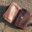 Pénztárca, Mindenmás, Bőrművesség, Egyedi bőr pénztárca választható mintával.  Pénztárca külseje 2 mm vastag borjúbőr, belseje 1,1 mm ..., Meska
