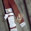 Vintage BALLAGÁSI szalagok, Dekoráció, Ünnepi dekoráció, Virágkötés, Nem csokor a ballagási csokor, ballagási szalag nélkül. No, de abban megegyezhetünk, hogy azok a ba..., Meska