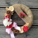 AKCIÓ!! Virágos dísz, Dekoráció, Otthon, lakberendezés, Virágkötés, Különleges virágos dekorációt kínálok eladásra, ami egy akasztónak köszönhetően akár kitűnő vendégf..., Meska